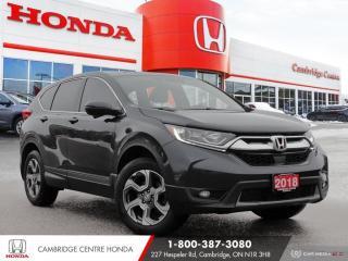 Used 2018 Honda CR-V EX-L REMOTE STARTER | HEATED SEATS | HONDA SENSING TECHNOLOGIES for sale in Cambridge, ON