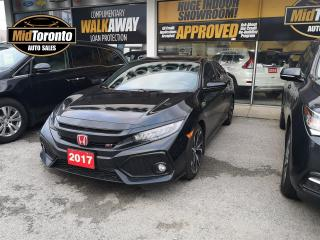 Used 2017 Honda Civic Si - Navi - Roof - Honda Serviced - One Owner for sale in North York, ON