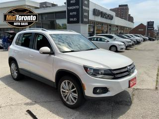 Used 2012 Volkswagen Tiguan Comfortline - 4Motion - Panoramic Roof - Leather - No Accidents - Excellent Condition for sale in North York, ON