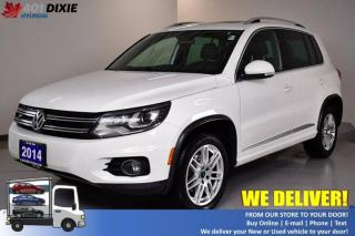Used 2014 Volkswagen Tiguan Highline for sale in Mississauga, ON