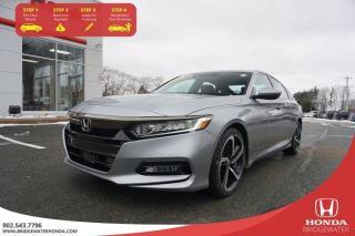 Used 2018 Honda Accord Sedan Sport for sale in Bridgewater, NS