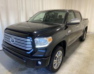 Used 2017 Toyota Tundra Platinum for sale in Regina, SK