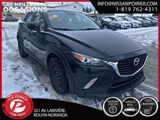 Used 2016 Mazda CX-3 GS ( frais vip 395$ non inclus) for sale in Rouyn-Noranda, QC
