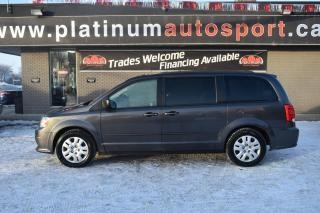 Used 2016 Dodge Grand Caravan SE/SXT NEW TIRES!! CERTIFIED!! READY FOR FAMILY ROADTRIPS!! for sale in Saskatoon, SK
