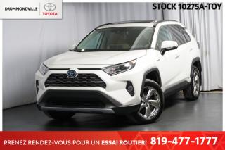 Used 2019 Toyota RAV4 ** HYBRIDE **   VERSION LIMITED!! for sale in Drummondville, QC