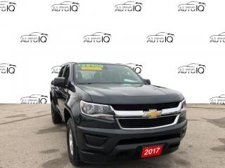 Used 2017 Chevrolet Colorado WT VERY CLEAN 4X4 V-6 for sale in Grimsby, ON