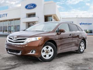 Used 2015 Toyota Venza XLE AWD for sale in Winnipeg, MB