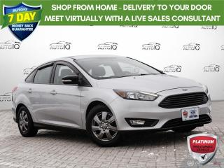 Used 2018 Ford Focus SEL ONE OWNER | NO ACCIDENTS for sale in Barrie, ON