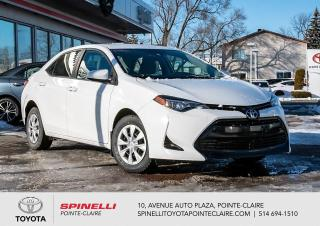 Used 2017 Toyota Corolla CE for sale in Pointe-Claire, QC