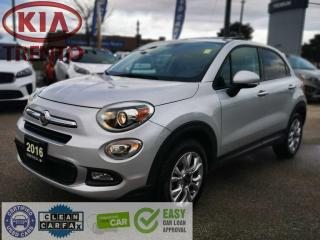 Used 2016 Fiat 500 X AWD Sport/Sunroof/Heated SW & Seats/2 sets tires for sale in North York, ON