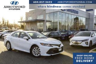 Used 2018 Toyota Camry LE  - Heated Seats -  Bluetooth - $139 B/W for sale in Abbotsford, BC