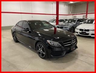 Used 2017 Mercedes-Benz C-Class C300 4MATIC BURMESTER PREMIUM PLUS NIGHT LED 360 RED INT! for sale in Vaughan, ON