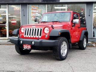 Used 2015 Jeep Wrangler 4WD 2dr Sport for sale in Bowmanville, ON