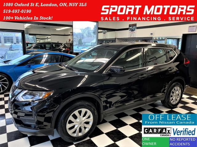 2018 Nissan Rogue S+Apple Play+Blind Spot+Camera+ACCIDENT FREE