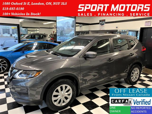 2017 Nissan Rogue S+Camera+Heated Seats+ACCIDENT FREE