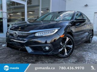 Used 2018 Honda Civic Sedan TOURING -LEATHER, LANE DEPART, SUNROOF, FULL LOAD NOT MISSING ANYTHING for sale in Edmonton, AB