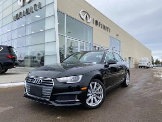 Used 2019 Audi A4 Sedan KOMFORT, SUNROOF, HEATED LEATHER, AWD, ACCIDENT FREE for sale in Edmonton, AB