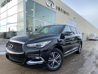 Used 2018 Infiniti QX60 PREMIUM, CPO, ACCIDENT FREE for sale in Edmonton, AB