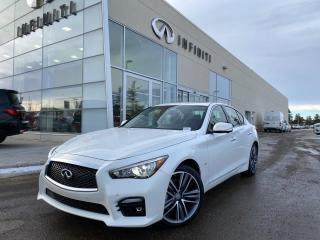 Used 2015 Infiniti Q50 SPORT TECHNOLOGY PKG, ACCIDENT FREE for sale in Edmonton, AB
