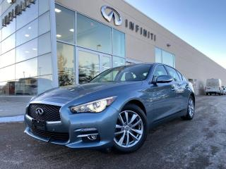 Used 2017 Infiniti Q50 DRIVER ASSISTANCE PKG, CPO, ACCIDENT FREE for sale in Edmonton, AB