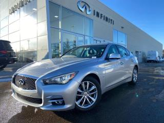 Used 2016 Infiniti Q50 DRIVER ASSISTANCE PKG, CPO, ACCIDENT FREE for sale in Edmonton, AB