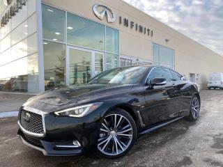 Used 2017 Infiniti Q60 Technology Pkg, CPO, ACCIDENT FREE for sale in Edmonton, AB