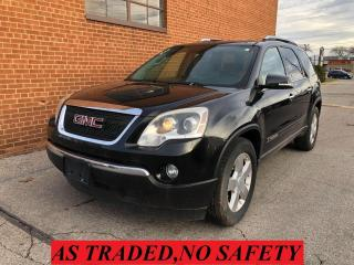 Used 2008 GMC Acadia SLT2/TRANSMISSION ISSUE for sale in Oakville, ON