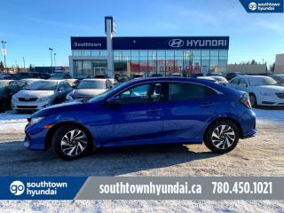 Used 2017 Honda Civic Hatchback LX/BACKUP CAM/APPLE CARPLAY/HEATED SEATS for sale in Edmonton, AB