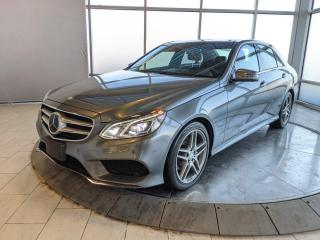 Used 2016 Mercedes-Benz E-Class Diesel | Avantgarde | Intelligent Drive | 360 Cameras | Park Assist | AMG Wheels for sale in Edmonton, AB