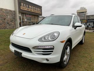Used 2014 Porsche Cayenne Platinum NAVI PANO ROOF REAR VIEW CAM BMS for sale in North York, ON