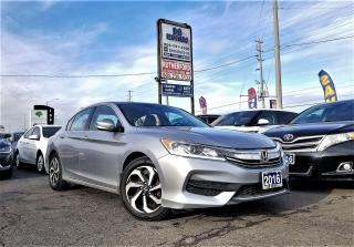 Used 2016 Honda Accord No Accidents |Auto |LX|H seats| Certified for sale in Brampton, ON