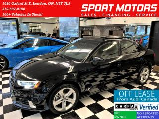 Used 2017 Audi A3 TFSI S-Tronic+ApplePlay+New Brakes+ACCIDENT FREE for sale in London, ON