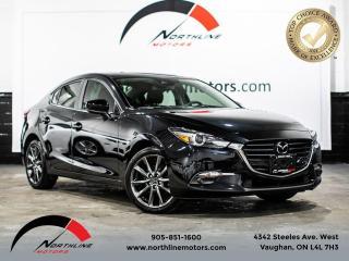 Used 2018 Mazda MAZDA3 GT/Navigation/Camera/Blindspot/LDW for sale in Vaughan, ON