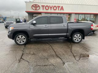 Used 2017 Toyota Tundra Platinum for sale in Cambridge, ON