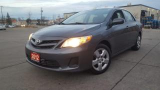 Used 2012 Toyota Corolla Only 131000 km, Auto, A/C, 3/Y warranty avai for sale in Toronto, ON
