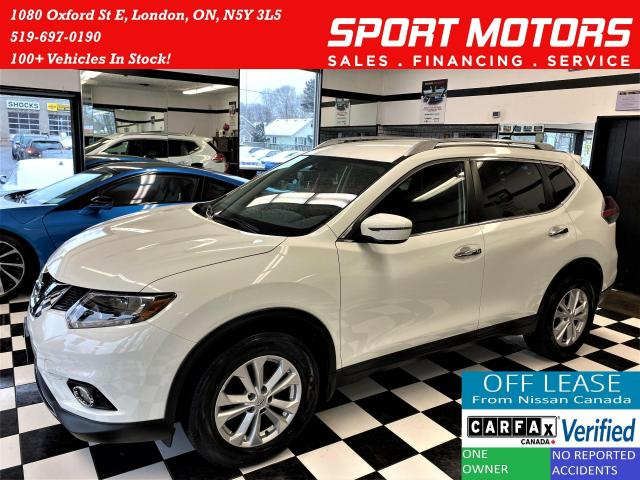 2016 Nissan Rogue SV+Push Start+Camera+Heated Seats+ACCIDENT FREE