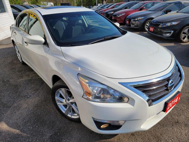 2014 Nissan Altima 2.5 SV/NAVI/CAMERA/P.ROOF/LOADED/ALLOYS+++