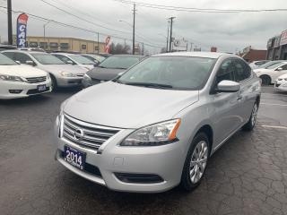 Used 2014 Nissan Sentra SV for sale in Hamilton, ON