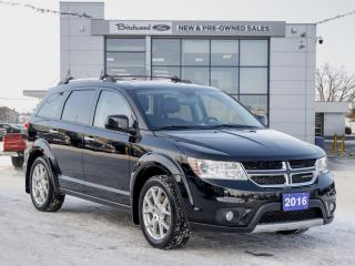 Used 2016 Dodge Journey R/T HEATED LEATHER | BACKUP CAM for sale in Winnipeg, MB