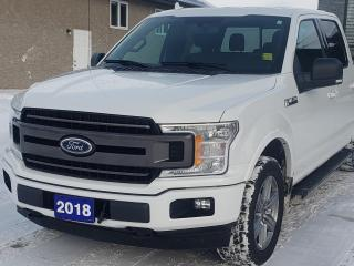 Used 2018 Ford F-150 XLT CLEAN CARFAX | 302A for sale in Winnipeg, MB
