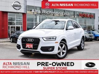 Used 2015 Audi Q3 Prem. Plus   Driver Assist PKG   Sport PKG   Navi for sale in Richmond Hill, ON