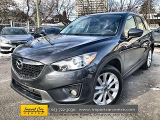 Used 2014 Mazda CX-5 GS ALLOYS  ROOF  HTD SEATS  BACKUP CAM for sale in Ottawa, ON