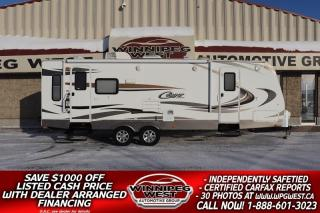 Used 2012 Keystone RV Cougar X-Lite 27RLS REAR LOUNGE DUAL ENTRANCE, HALF-TON PULLABLE for sale in Headingley, MB
