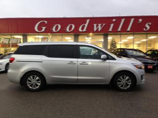 Used 2016 Kia Sedona ! 8 PASS! HEATED SEATS! BLUETOOTH! BACKUP CAMERA! for sale in Aylmer, ON