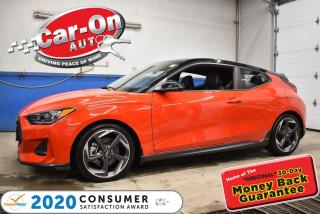 Used 2020 Hyundai Veloster 1.6L TURBO | LEATHER l HEATED SEATS & STEERING l S for sale in Ottawa, ON