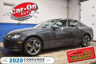 Used 2017 Audi A4 2.0T TECHNIK PLUS | B&O AUDIO |  360 CAMERA | PREM for sale in Ottawa, ON