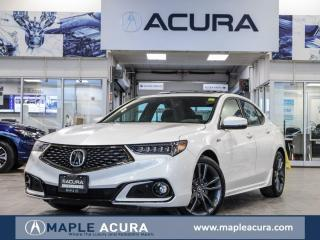 Used 2019 Acura TLX Tech A-Spec. Acura Certified 7/160km warranty for sale in Maple, ON