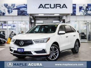 Used 2017 Acura MDX Navi Pkg, No accidents, full service records for sale in Maple, ON