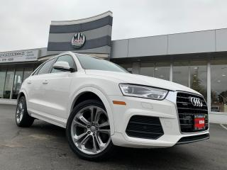 Used 2017 Audi Q3 2.0T Progressiv QUATTRO AWD LEATHER NAVI CAMERA for sale in Langley, BC