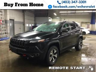 Used 2015 Jeep Cherokee Trailhawk for sale in Red Deer, AB